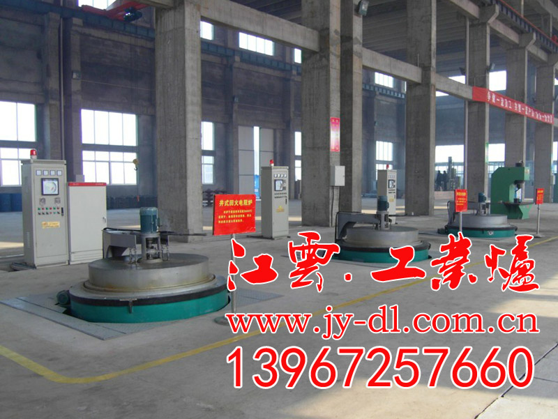 Well type tempering furnace